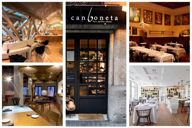 Los mejores restaurantes de Barcelona más valorados