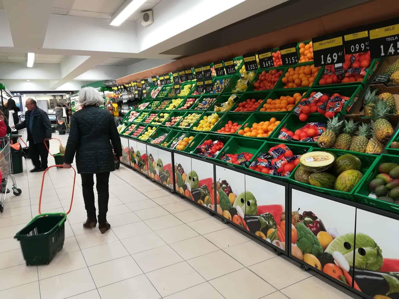 comprar comida sana Barcelona
