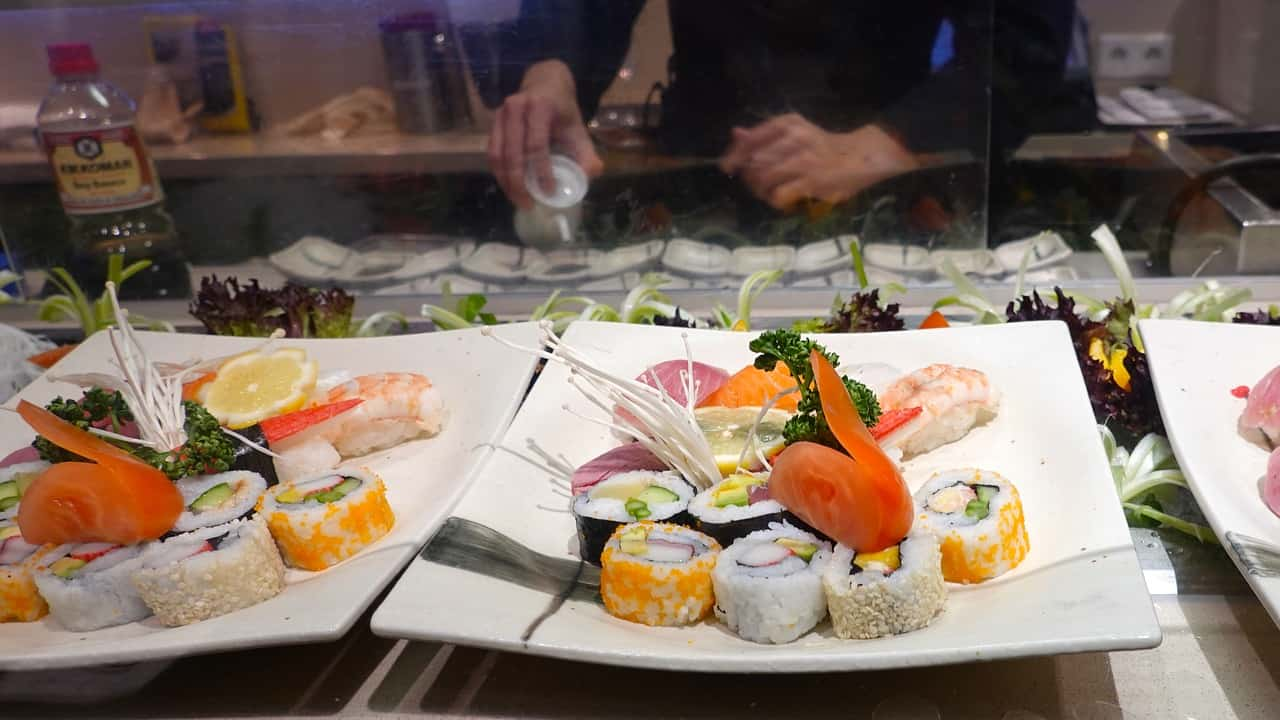 Mejores restaurantes de sushi en Barcelona
